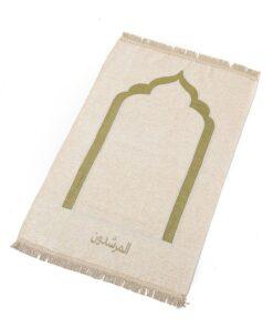 Tapis de prière en coton doux