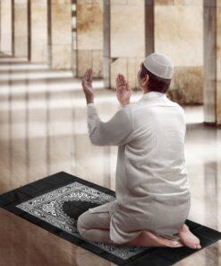 Tapis de prière de poche